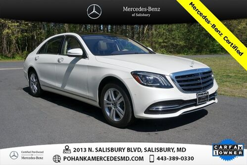 2018_Mercedes-Benz_S-Class_S 450 4MATIC® Mercedes-Benz Certified Pre-Owned_ Salisbury MD