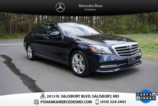 2018_Mercedes-Benz_S-Class_S 450 4MATIC®_ Salisbury MD