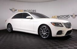 2018_Mercedes-Benz_S-Class_S 450 AMG,Blind Spot,A/C Seats,360 Camera,Navigation_ Houston TX