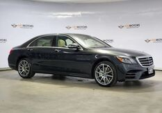 2018_Mercedes-Benz_S-Class_S 450 AMG,Pano,Blind Spot,Rear Seat Pkg,360Camera_ Houston TX