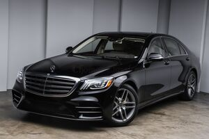 2018_Mercedes-Benz_S-Class_S 450_ Akron OH