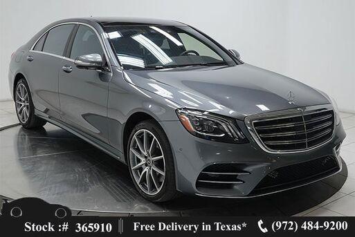 2018_Mercedes-Benz_S-Class_S 450 DISTRONIC+,AMG SPORT,DRVR ASST,$105K MSRP_ Plano TX