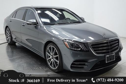 2018_Mercedes-Benz_S-Class_S 450 DISTRONIC+,AMG SPORT,DRVR ASST,$106K MSRP_ Plano TX