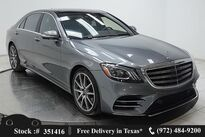 Mercedes-Benz S-Class S 450 DISTRONIC+,AMG SPORT,DRVR ASST,$107K MSRP 2018