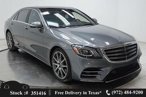 2018_Mercedes-Benz_S-Class_S 450 DISTRONIC+,AMG SPORT,DRVR ASST,$107K MSRP_ Plano TX