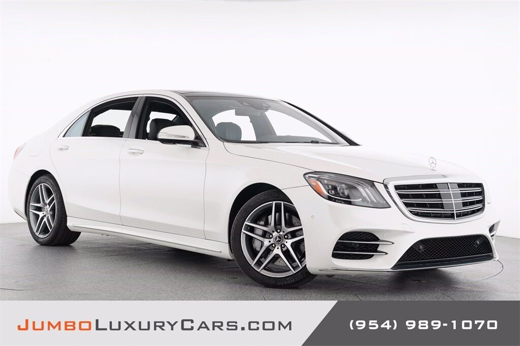 2018 Mercedes-Benz S-Class S 450 Hollywood FL