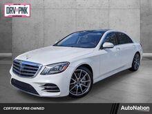 2018_Mercedes-Benz_S-Class_S 450_ Pembroke Pines FL