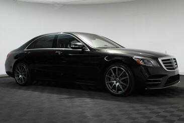 2018_Mercedes-Benz_S-Class_S 450 Sport 20 Amg Wheels P01 Driver Assistance Package Nappa L_ Houston TX