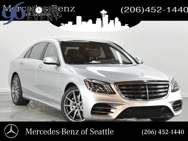 2018 Mercedes-Benz S-Class S 560 4MATIC® Sedan Seattle WA
