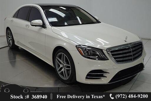 2018_Mercedes-Benz_S-Class_S 560 AMG SPORT,DRVR ASST,REAR STS PKG,$118K MSRP_ Plano TX