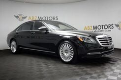 2018_Mercedes-Benz_S-Class_S 560 Pano,Rear Seat Pkg,360Camera,AC Seats_ Houston TX