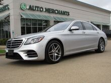 2018_Mercedes-Benz_S-Class_S450 4MATIC,Panoramic Roof, Blind Spot, Heated and Cooled seats, Navi_ Plano TX