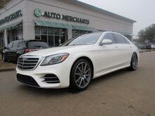 2018_Mercedes-Benz_S-Class_S450,Rear Seat Entertainment, MSRP $104,010.00 Premium 1 Package, AMG Line, UNDER FACTORY WARRANTY_ Plano TX