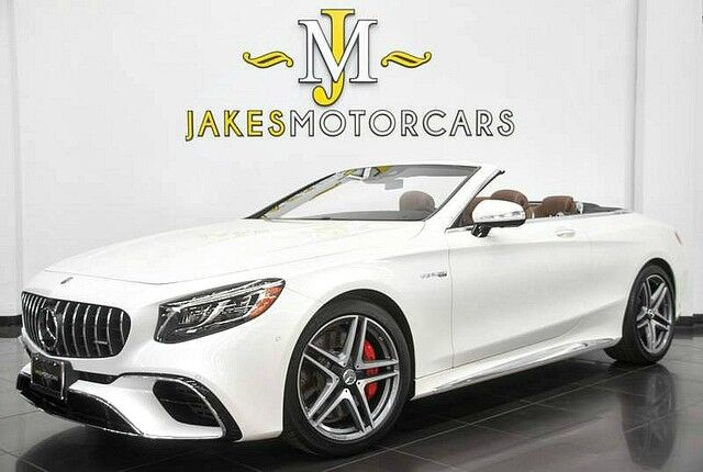 2018 Mercedes-Benz S-Class S63 AMG Cabriolet DESIGNO ($191,740 MSRP) **ONLY 700 MILES** San Diego CA