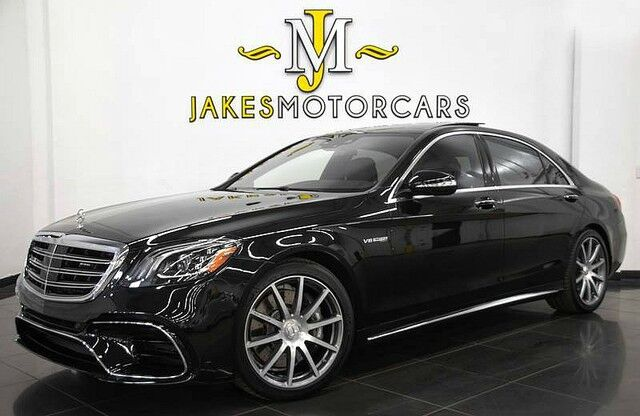 2018 Mercedes-Benz S-Class S63 AMG DESIGNO Sedan ($166,560 MSRP) *ONLY 3600 MILES* San Diego CA