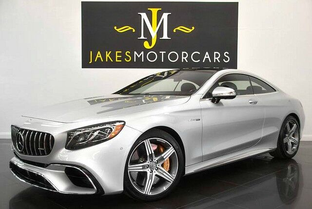 2018 Mercedes-Benz S-Class S63 DESIGNO Coupe($183,145 MSRP)*CERAMIC BRAKES**ONLY 900 MILES* San Diego CA