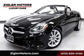 Mercedes-Benz SLC 300 AMG Sport Package Glass Roof Blind Spot Rearview Camera 2018