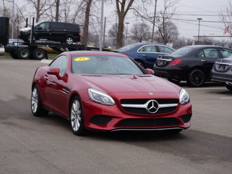 2018_Mercedes-Benz_SLC_300Roadster_  Novi MI