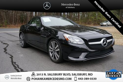 2018_Mercedes-Benz_SLC_SLC 300 ** Hard Top Convertible** Mercedes - Benz Certifie_ Salisbury MD