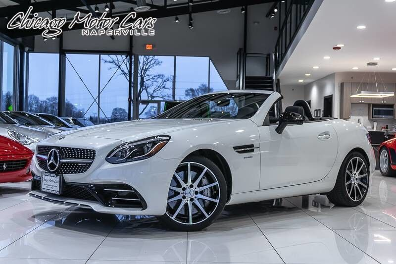 Vehicle Details 2018 Mercedes Benz Slc43 Amg Convertible At Chicago Motor Cars Of Naperville