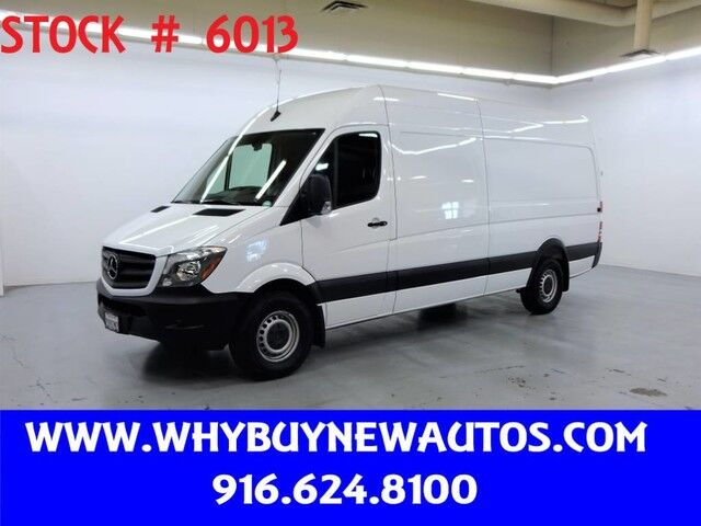 2018 Mercedes-Benz Sprinter 2500 ~ Diesel ~ Extended Length ~ High Roof ~ 5 Passenger ~ Only 5K Miles! Rocklin CA