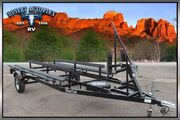 2018 Metal Craft 17 CCS25 Tritoon/Pontoon Trailer Mesa AZ