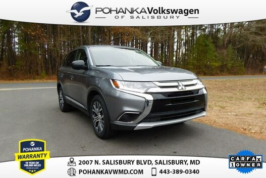 2018_Mitsubishi_Outlander_ES ** ONE OWNER ** THIRD ROW **_ Salisbury MD