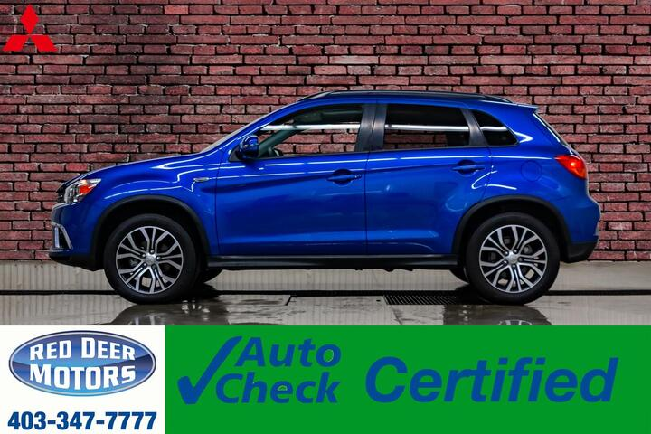 2018 Mitsubishi RVR AWD GT Leather Roof BCam Red Deer AB