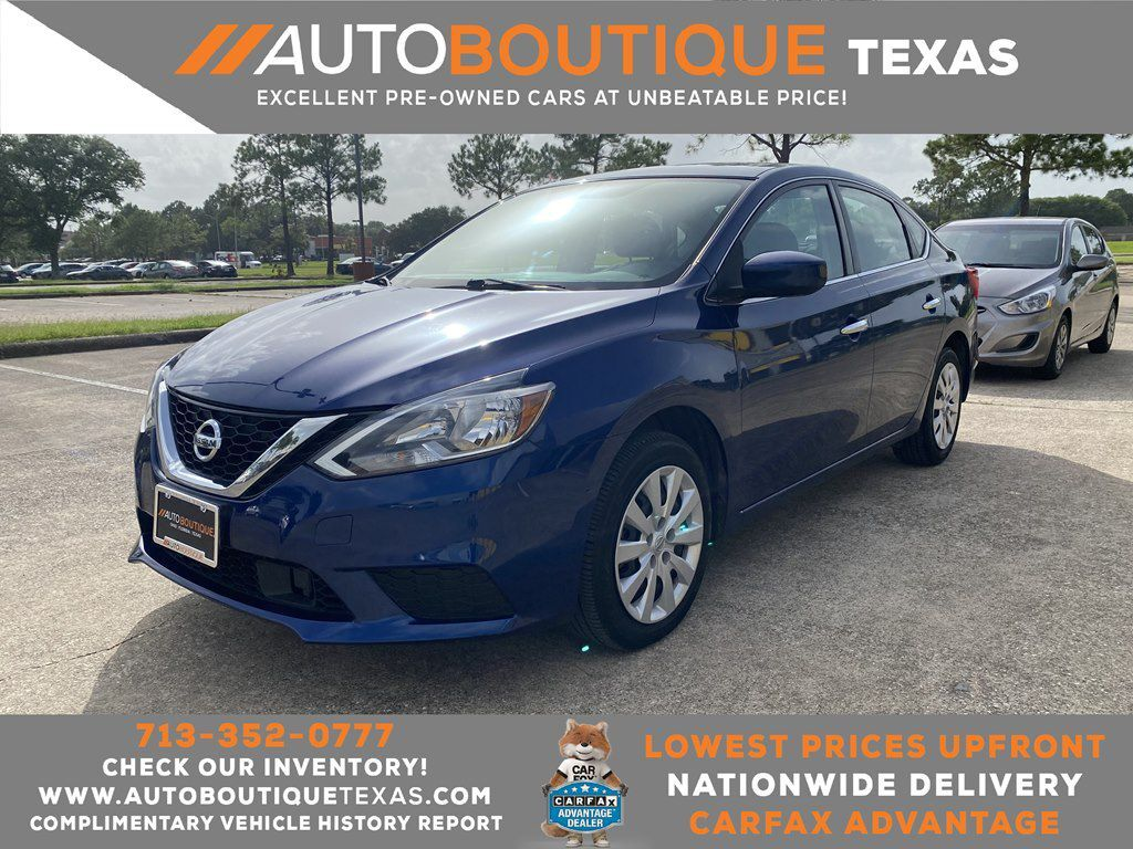 2018 NISSAN SENTRA S S