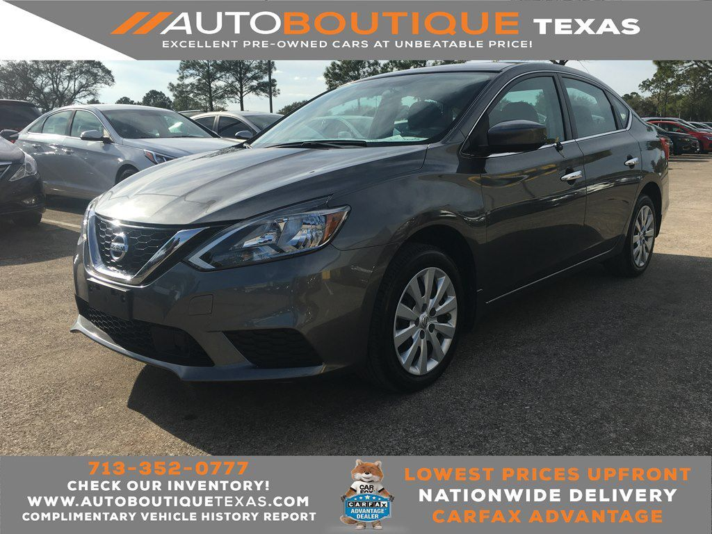 2018 NISSAN SENTRA S S Houston TX