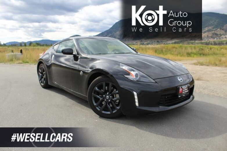 2018 Nissan 370Z Coupe Manual, Very Low Km's, No Accidents Kelowna BC