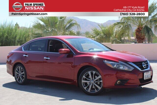 2018 Nissan Altima 2.5 SR Cathedral City CA