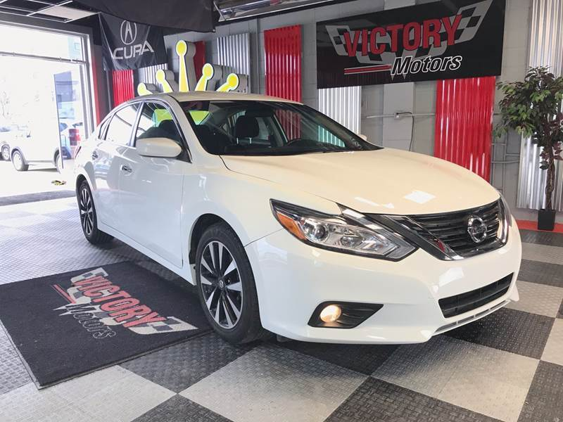 2018 Nissan Altima 2.5 SV 4dr Sedan