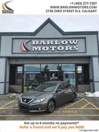 2018_Nissan_Altima_2.5 SV BACK UP CAMERA HEATED SEATS SUNROOF_ Calgary AB