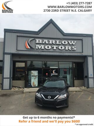 2018_Nissan_Altima_SVHEATED SEATSLOW PAYMENTSSUNROOFASK ABOUT OUR CASH BACK!_ Calgary AB