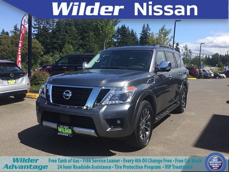 2018 Nissan Armada 4d SUV AWD SL Port Angeles WA