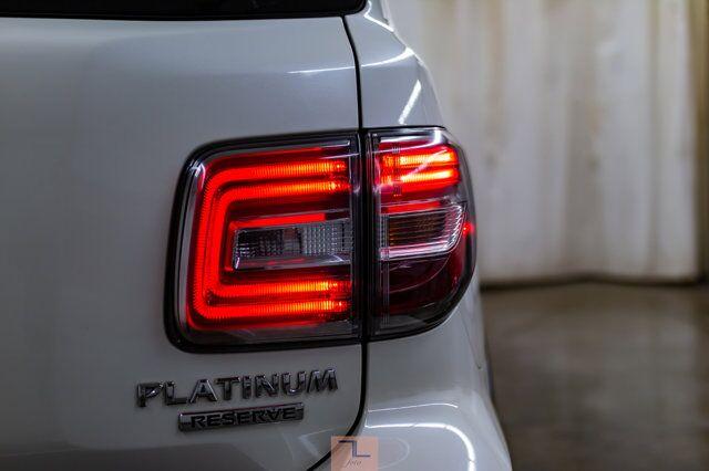 2018 Nissan Armada AWD Platinum Reserve Leather Roof Nav TV's Red Deer AB