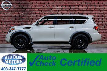 2018_Nissan_Armada_AWD Platinum Reserve Leather Roof Nav TV's_ Red Deer AB