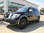 2018 Nissan Armada Platinum AWD Entertainment System, Bluetooth , Heated/Cooled Seats, Sunroof, Warranty