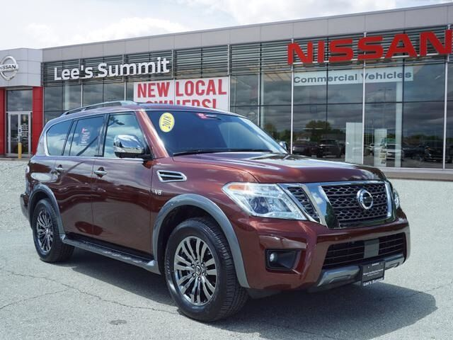 2018 Nissan Armada Platinum CERTIFIED--PLATINUM RESERVE PACKAGE Lee's Summit MO
