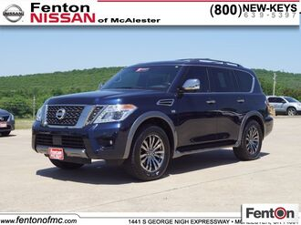 2018_Nissan_Armada_Platinum_ McAlester OK