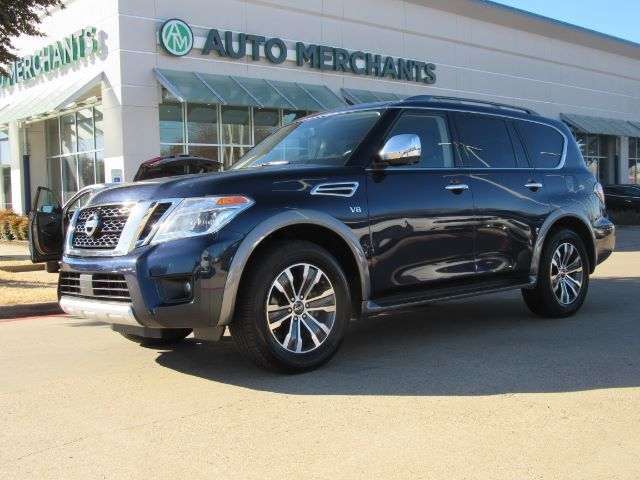 2018 Nissan Armada SL 2WD 5.6L 8CYLINDER, AUTOMATIC, LEATHER SEATS, NAVIGATION SYSTEM,BLIND SPOT MONITOR, SUNROOF Plano TX