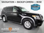 2018 Nissan Armada SV *NAVIGATION, BACKUP-CAMERA, TOUCH SCREEN, HEATED SEATS, POWER LIFTGATE, ALLOY WHEELS, BOSE AUDIO, BLUETOOTH PHONE & AUDIO