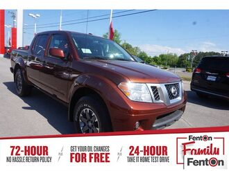 2018_Nissan_Frontier_PRO_ Knoxville TN