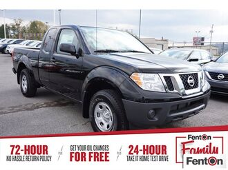 2018_Nissan_Frontier_S_ Knoxville TN