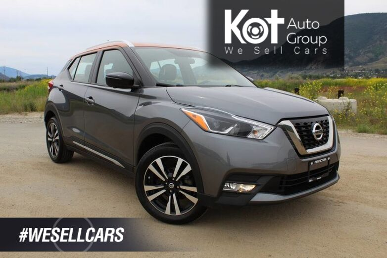 2018 Nissan Kicks SR, 1 Owner, BOSE Sound System, **Super Cool Car** Kelowna BC