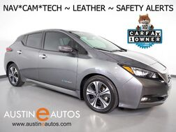 2018_Nissan_LEAF SL (40 kWh Battery)_*NAVIGATION, BLIND SPOT ALERT, COLLISION/PEDESTRIAN ALERT, ADAPTIVE CRUISE, SURROUND VIEW MONITOR, LEATHER, HEATED SEATS, BOSE AUDIO, APPLE CARPLAY_ Round Rock TX