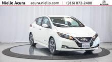 2018_Nissan_Leaf_SV_ Roseville CA
