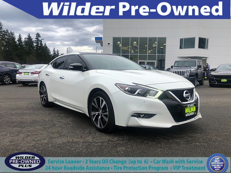 2018 Nissan Maxima 4d Sedan SL Port Angeles WA