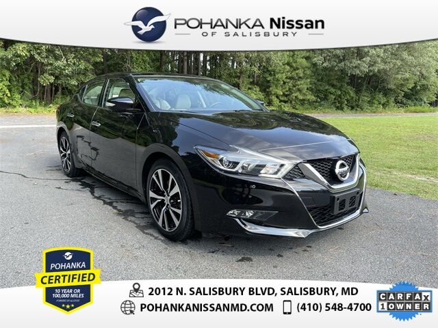 2018 Nissan Maxima Platinum Nissan Certified Pre-Owned Salisbury MD